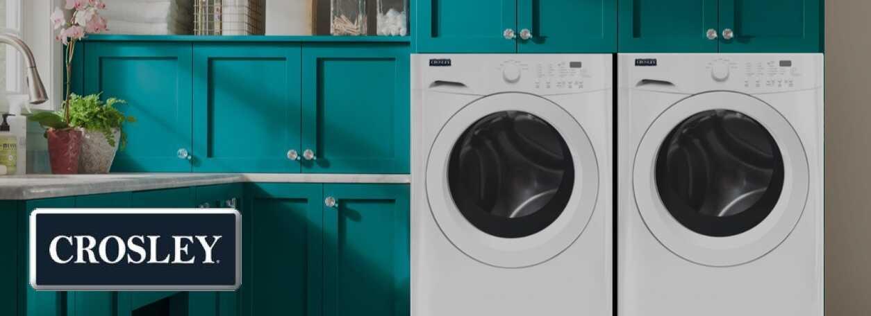 Crosley washer and dryer