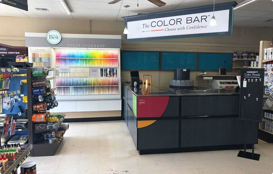 NEW! Paint Center