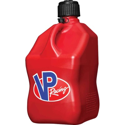 VP Racing 5 Gal. Square HDPE Utility Jug, Red