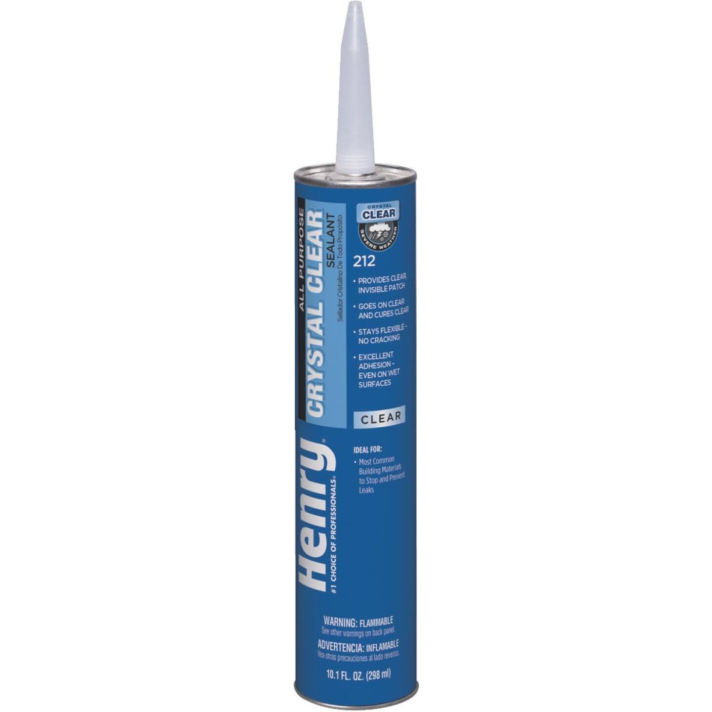 Henry 10.1 Oz. Crystal Clear Roof Cement and Patching Sealant Image 1