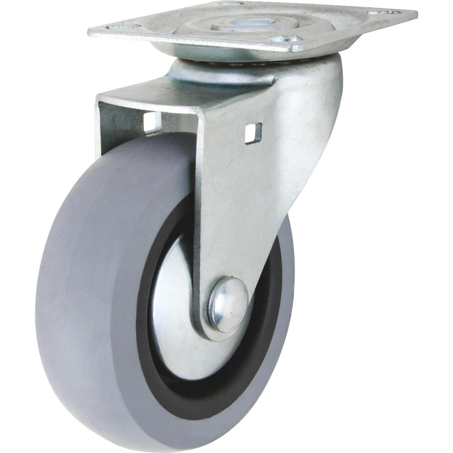 Shepherd 3 In. Thermoplastic Swivel Plate Caster Image 1