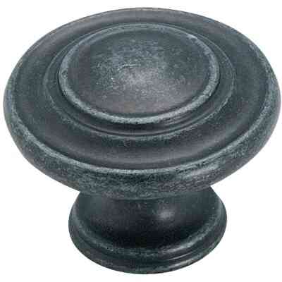 Amerock Inspirations Wrought Iron Dark 1-3/8 In. Cabinet Knob