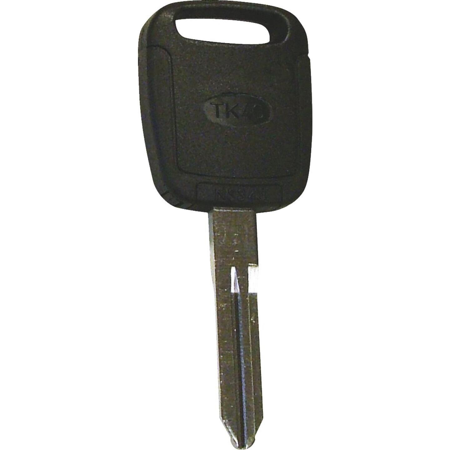 Hy-Ko Nissan Nickel Plated Programmable Chip Key Image 1
