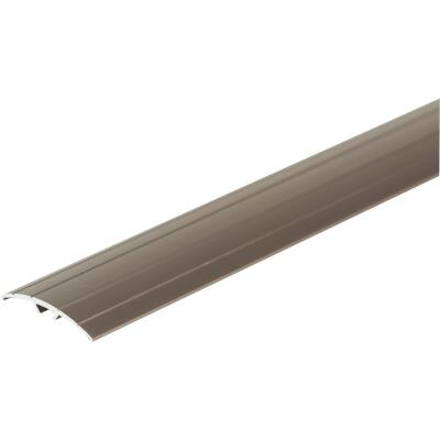 M-D Pewter 1-9/16 In. W x 72 In. L Aluminum T Mold Floor Transition