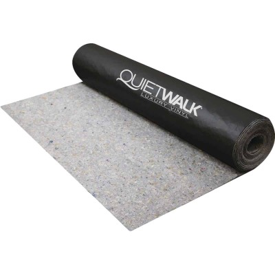 QuietWalk Luxury Vinyl 3 Ft. W x 33.33 In. L Underlayment with Vapor Barrier, 100 Sq. Ft./Roll
