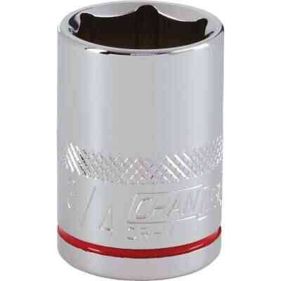 Channellock 1/2 In. Drive 3/4 In. 6-Point Shallow Standard Socket