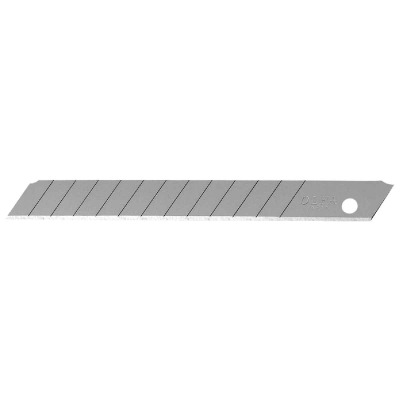 Olfa Silver 9mm 13-Point Snap-Off Knife Blade (10-Pack)
