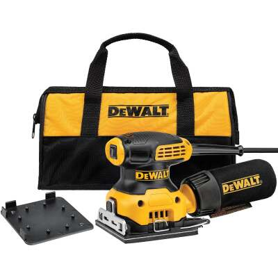 DeWalt 1/4 Sheet 2.3A Finish Sander