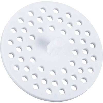 Do it 3-1/8 In. Dia White Plastic Garbage Disposer Strainer