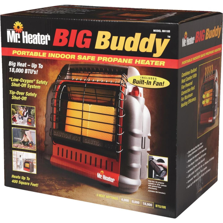 MR. HEATER 18,000 BTU Radiant Big Buddy Propane Heater Image 2
