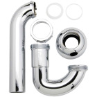 Do it Best 1-1/2 x 1-1/2 In. or 1-1/2 x 1-1/4 In. Chrome-Plated ABS P-Trap Image 1