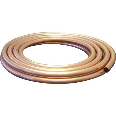Mueller Streamline 1/4 In. ID x 10 Ft. Soft Coil Copper Tubing