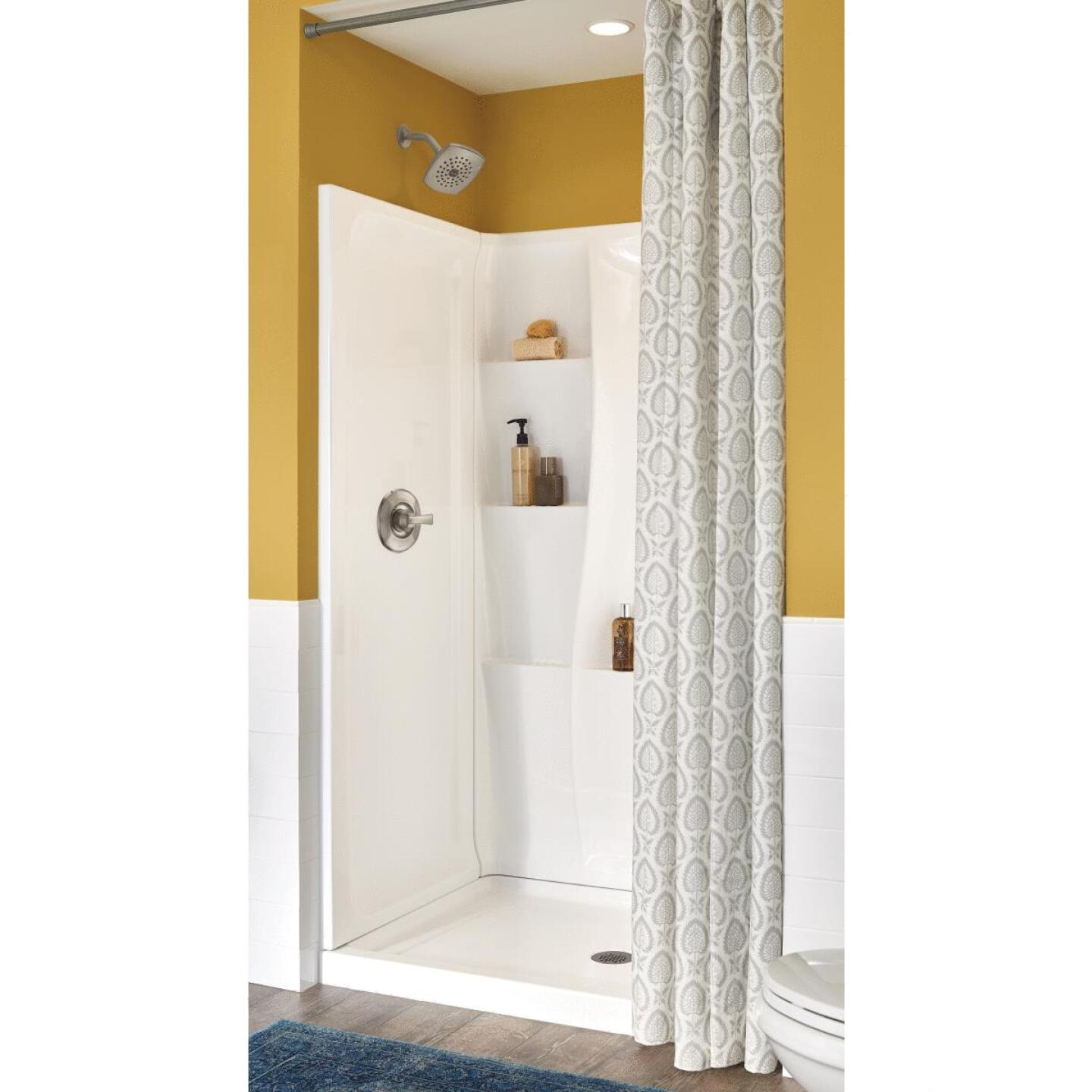Delta Classic 400 3-Piece 48 In. L x 34 In. D Shower Wall Set in White Image 1