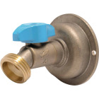 Sharkbite 1/2 In. x 3/4 In. MHT Quarter Turn Brass No Kink 45 Degree Hose Bibb Image 1