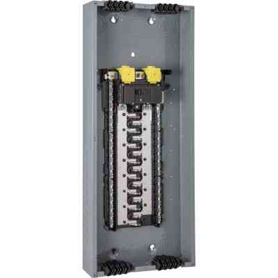 Square D Homeline Qwik-Grip 200A 60-Circuit 30-Space Indoor Main Breaker Plug-On Neutral Load Center