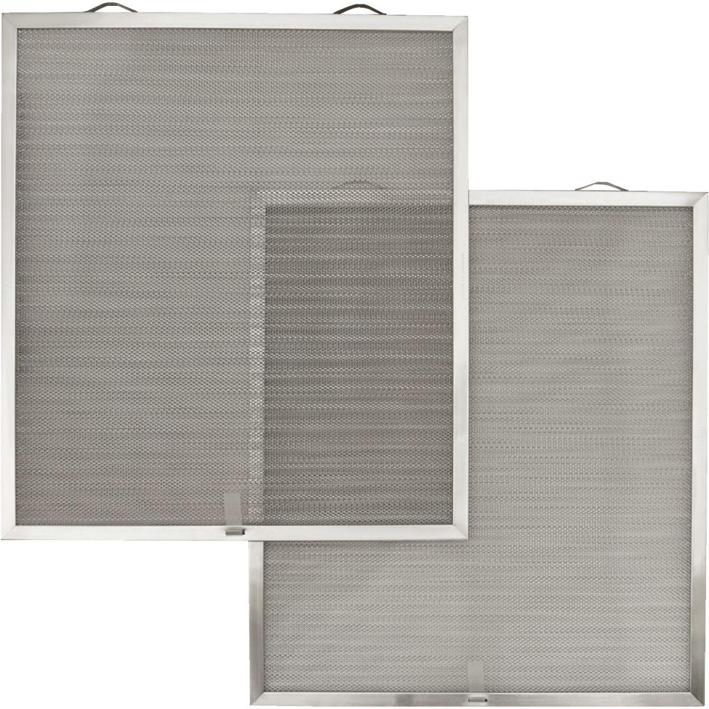 Broan-Nutone Open Mesh Aluminum Range Hood Grease Filter (2-Pack) Image 1