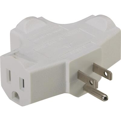 Do it White 15A 3-Outlet Tap