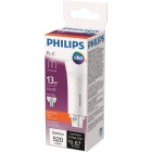 Philips 13W Equivalent Soft White PL-C 4-Pin Vertical Orientation LED Tube Light Bulb Image 1