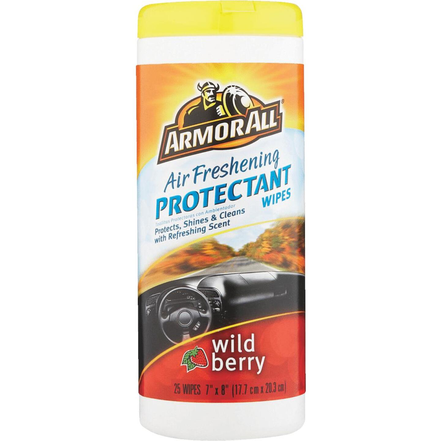 Armor All Wild Berry Scent Wipe Protectant Wipe Image 2