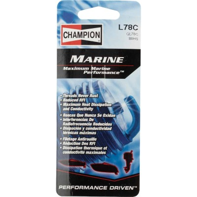 Champion L78C Copper Plus Marine Spark Plug