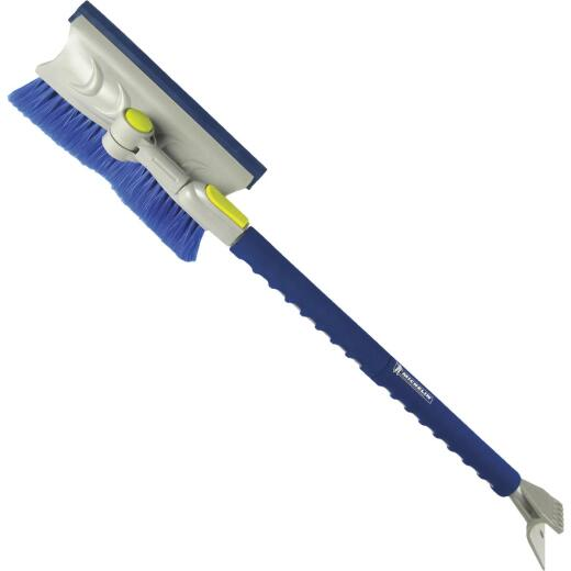 Michelin Colossal 50 In. Steel Extendable Snowbrush with Scraper and Ice Chipper