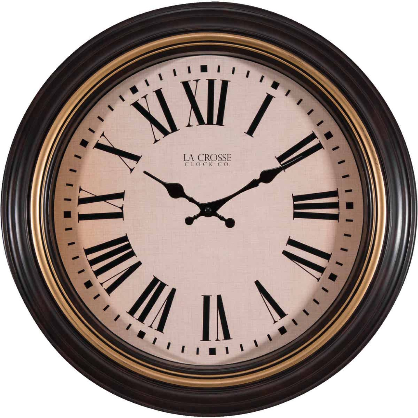 La Crosse Clock Quartz Wall Clock Image 1