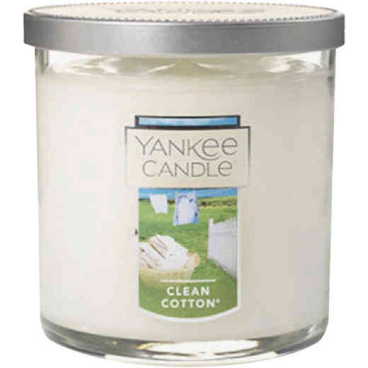 Yankee Candle 7 Oz. Clean Cotton Tumbler Candle