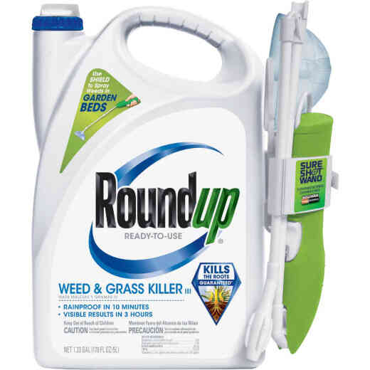Roundup 1.33 Gal Ready To Use Wand Sprayer Weed & Grass Killer III