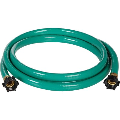Best Garden 5/8 In. Dia. x 6 Ft. L. Leader Hose with Female Couplings