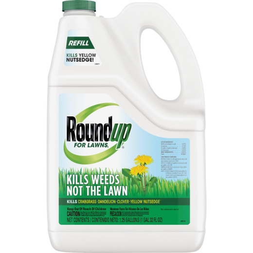 Roundup For Lawns 1.25 Gal. Ready To Use Refill Northern Formula Weed Killer