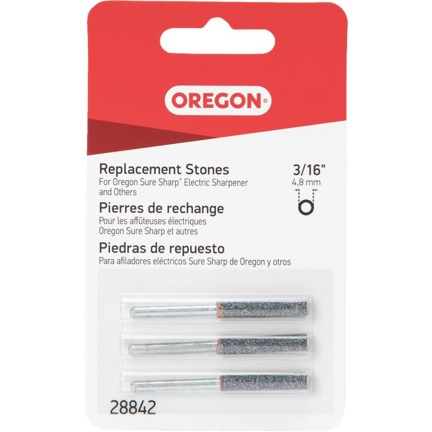 Oregon 3/16 In. Replacement Grinding Stones (3 Count) Image 1