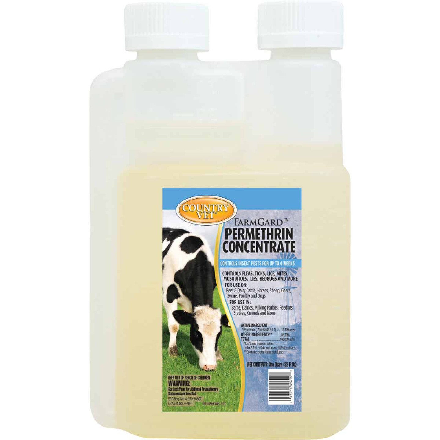 Country Vet FarmGard 32 Oz. Concentrate Permethrin Fly Spray Image 1
