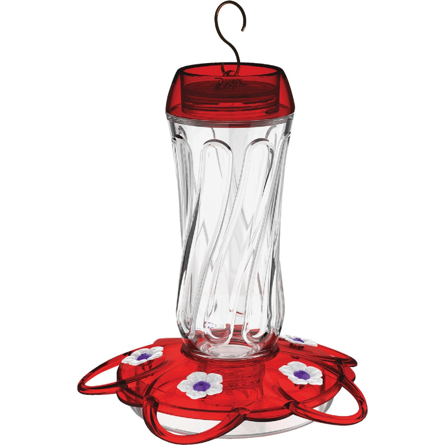 More Birds Orion 16 Oz. Glass Hummingbird Feeder Image 1