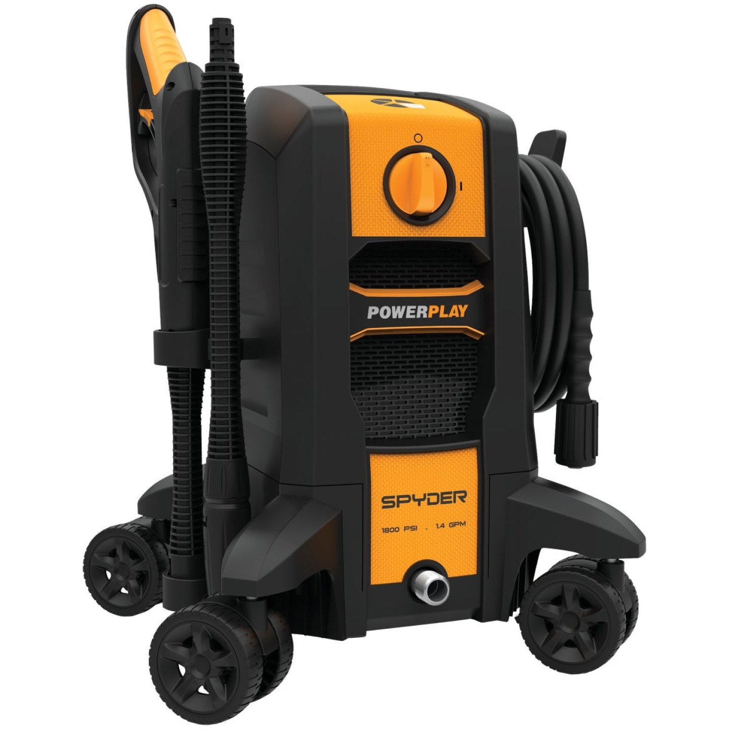 Powerplay Spyder 1800 psi 1.4 GPM Cold Water Electric Pressure Washer Image 1