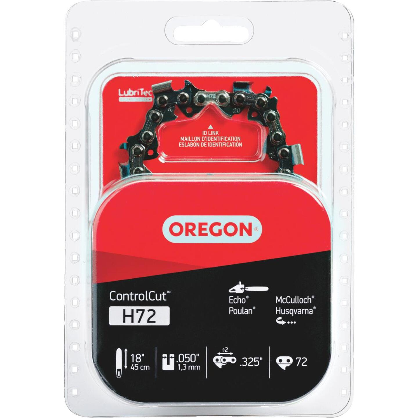 Oregon H72 18 In. Chainsaw Chain Image 1