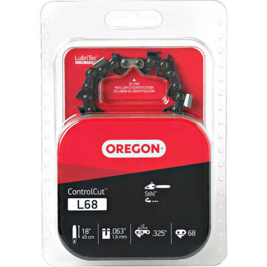 Oregon ControlCut L68 18 In. 0.325 In. 68 Link Saw Chain