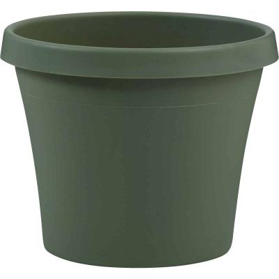 Bloem Terra Living Green 17 In. H. x 20 In. Dia. Polypropylene Planter
