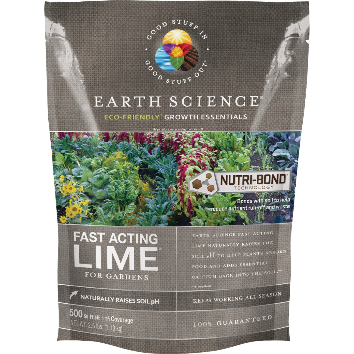Earth Science Fast Acting 2.5 Lb. 500 Sq. Ft. Coverage Lime Image 1
