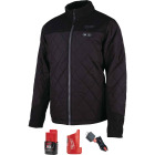 Milwaukee M12 XL Black Cordless Heated Axis Jacket Image 3