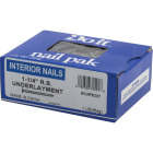 Do it 1-1/4 In. 12-1/2 ga Bright Ring Shank Underlayment Flooring Nails (345 Ct., 1 Lb.) Image 2