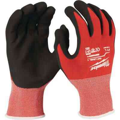 Milwaukee Unisex XL Nitrile Coated Cut Level 1 Work Glove