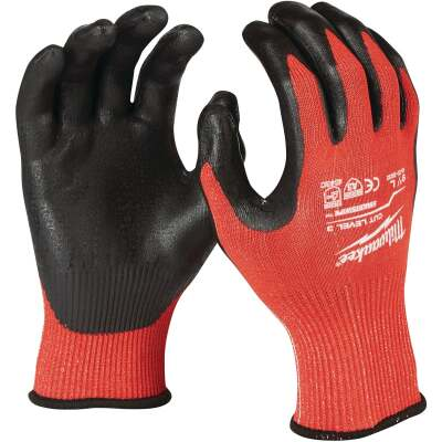 Milwaukee Men's XL Nitrile Coated Cut Level 3 Work Glove