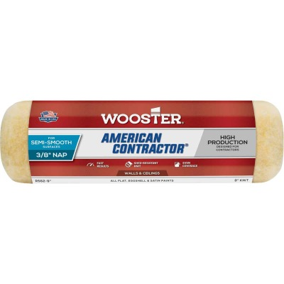 Wooster American Contractor 9 In. x 3/8 In. Knit Fabric Roller Cover