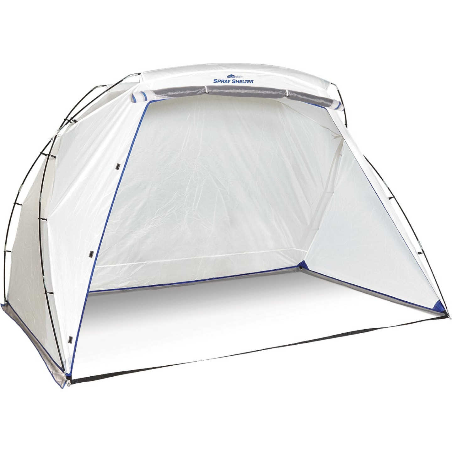 HomeRight 9 Ft. W. x 5.5 Ft. H. x 6 Ft. D. Large Portable Spray Shelter Image 1