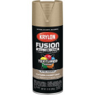 Krylon Fusion All-In-One Textured Spray Paint & Primer, Desert Sand Image 1