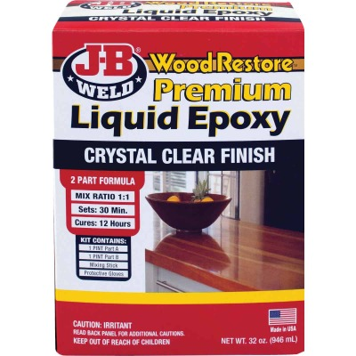 J-B Weld Wood Restore 32 Oz. 2-Part Premium Liquid Epoxy