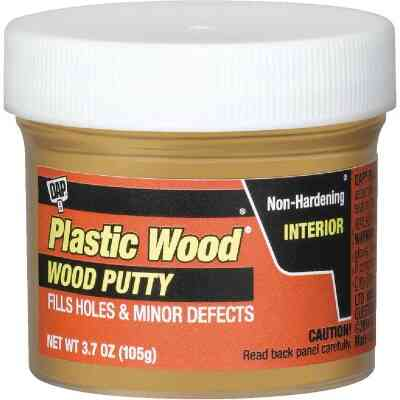 DAP Plastic Wood 3.7 Oz. Light Oak Wood Putty