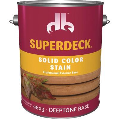 Duckback SUPERDECK Self Priming Solid Color Stain, Deeptone Base, 1 Gal