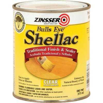 Zinsser Bulls Eye Clear Shellac, Quart