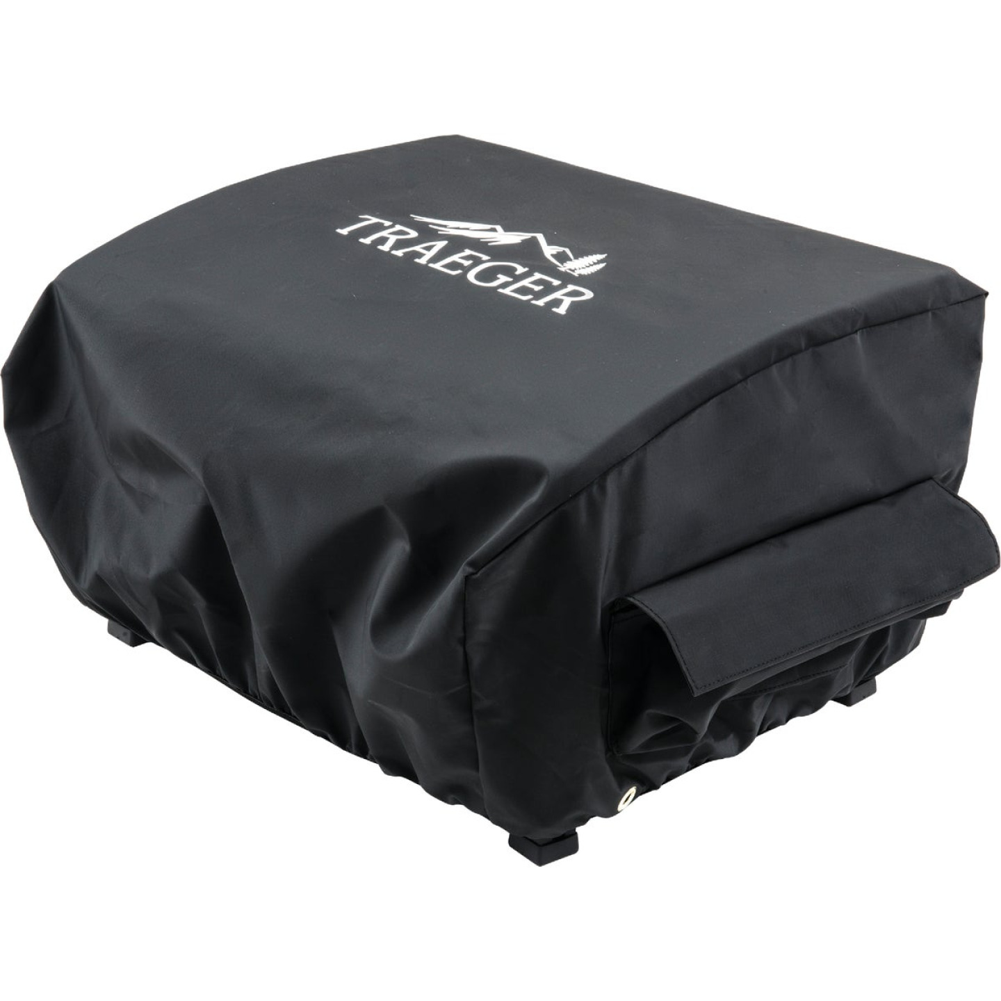 Traeger Scout & Ranger 21 In. Black All-Weather Grill Cover Image 1